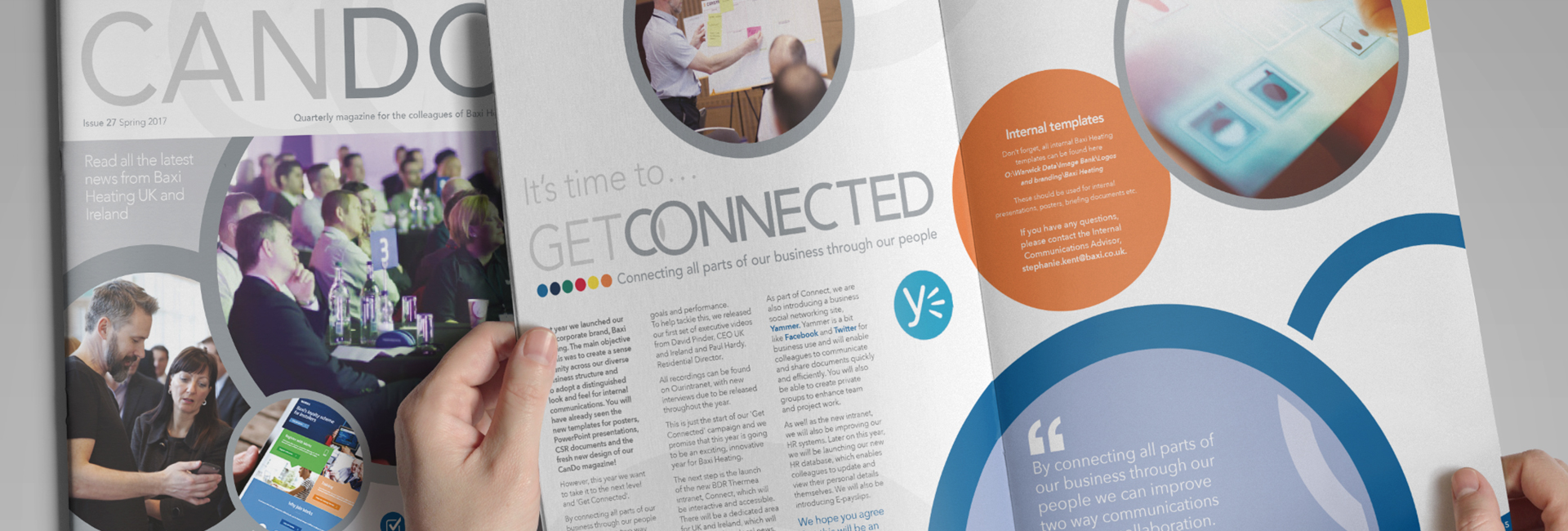 Our first Baxi magazine!