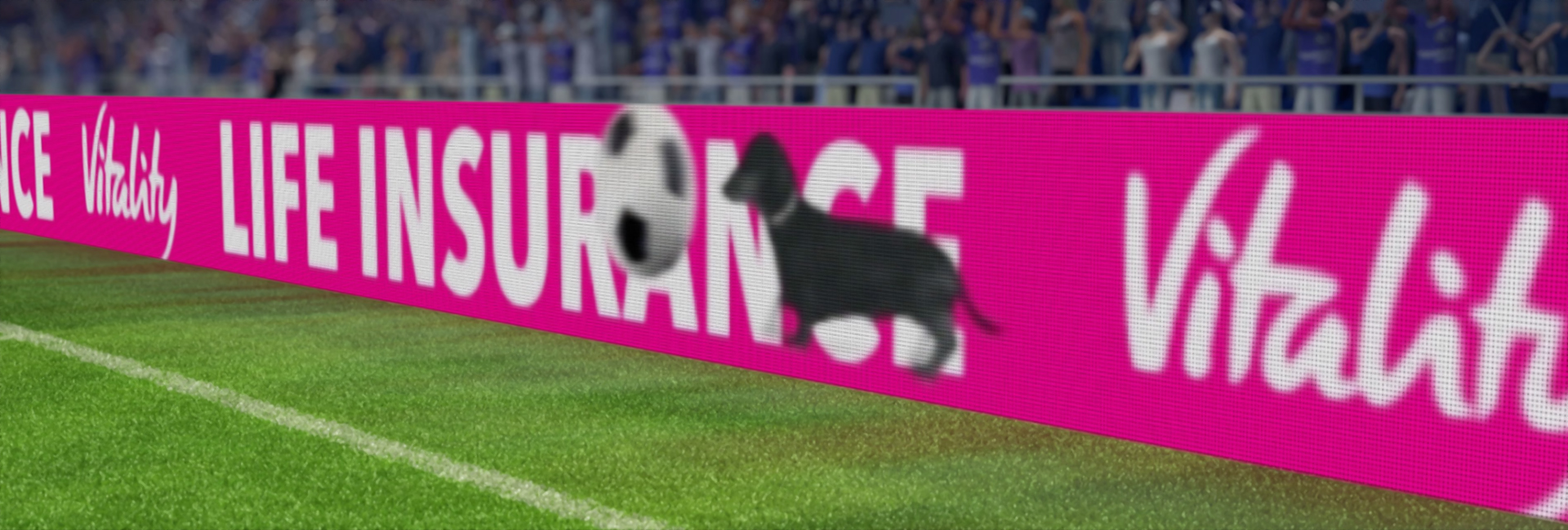 Football advertising just went virtual – a new horizon in targeted advertising opens up